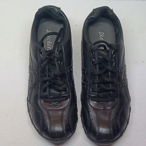 Skechers Springform Biker Walking Black 7.5